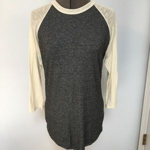 LulaRoe gray and cream Randy